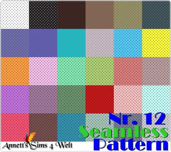 Annett`s Sims 4 Welt: Seamless Pattern   Nr. 12   Stars
