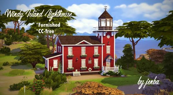 Jenba Sims: Windy Island Lighthouse Furnished