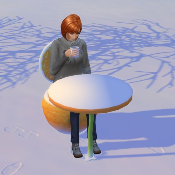 Mod The Sims: Juice Dining Series   table and chair by darkdatatrc