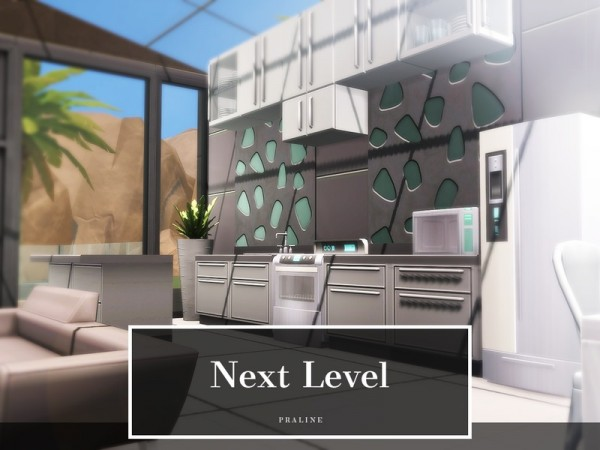 The Sims Resource: Next Level house by Pralinesims