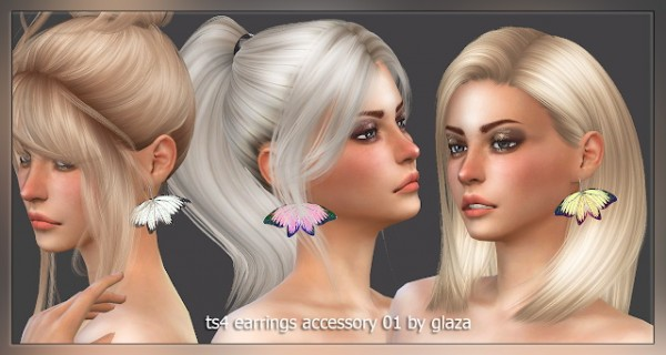 All by Glaza: Earrings accessory 01