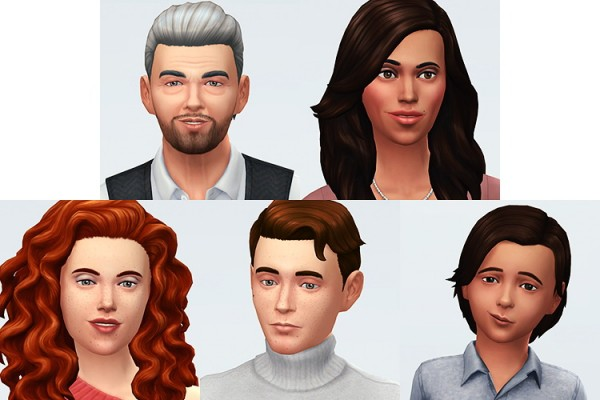 Simsontherope: Some families