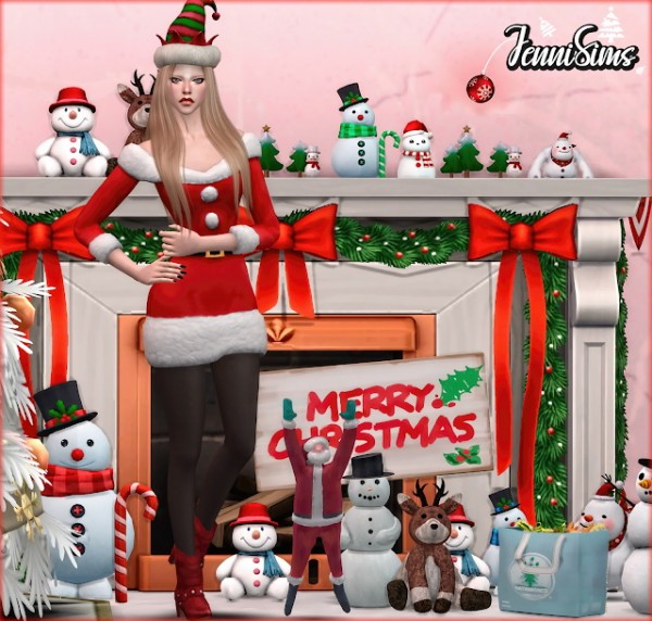 Jenni Sims: Collection Do not open before christmas