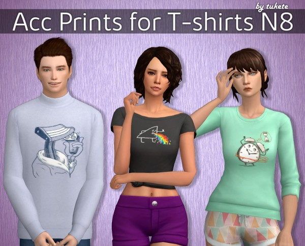 Tukete: Acc Prints for T shirts Part 8