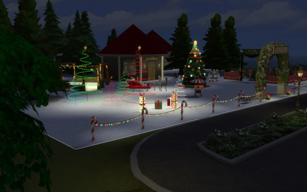 Mod The Sims: Winter Fest Collection by fire2icewitch