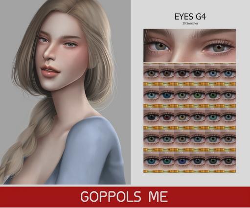 GOPPOLS Me: Eyes G4