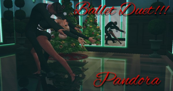 Pandoras CC: Ballet Duet poses