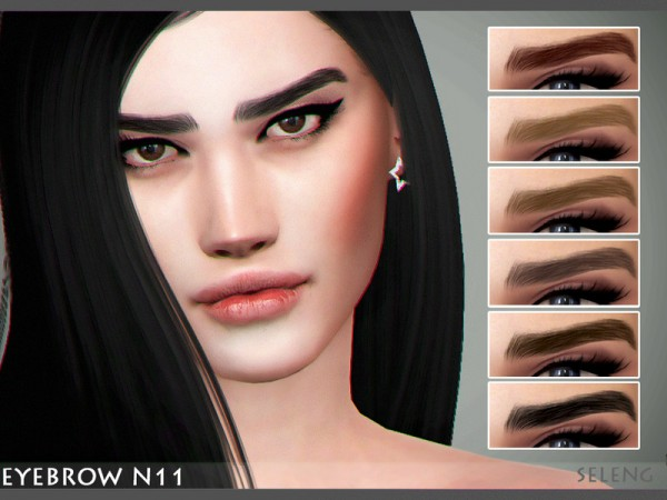 The Sims Resource: Eyebrow N11 by Seleng