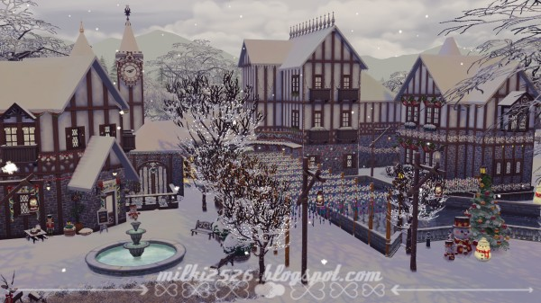 Milki2526: Winter town