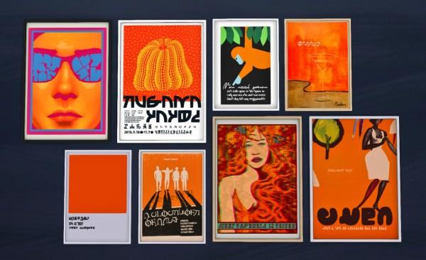 Budgie2budgie: Orange Poster Pack