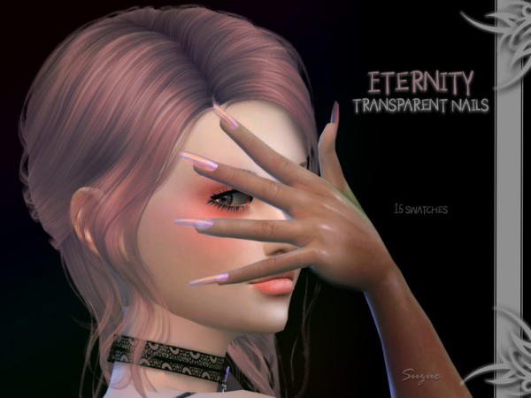 The Sims Resource: Eternity Nails by Suzue