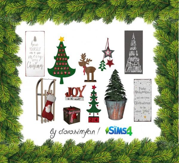 Christmas Decorations On Sims 3: SimsMarktplatz: Christmas Gifts €� Sims 4 Downloads