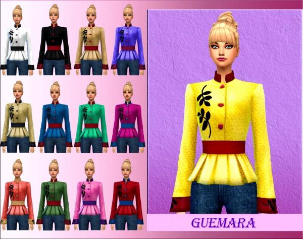 Guemara: New leaf jacket