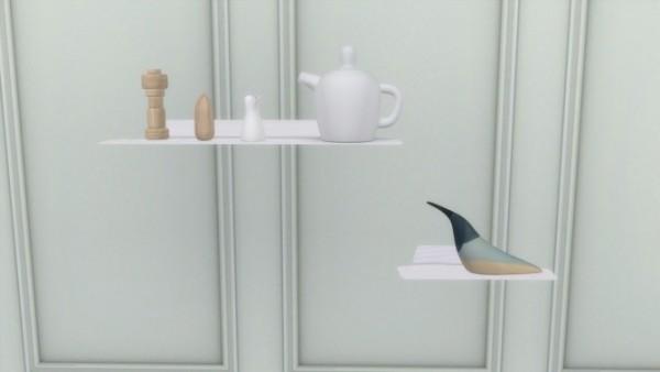 Meinkatz Creations: Jet Shelves