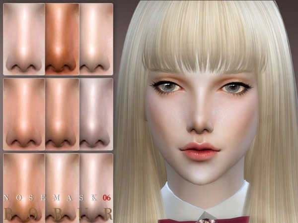 The Sims Resource: Nose 06 by Bobur