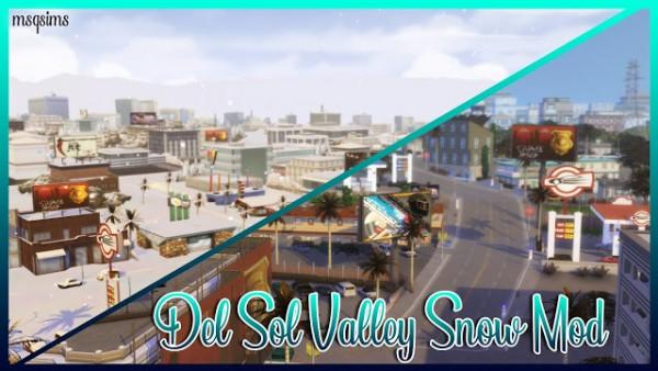 MSQ Sims: Del Sol Valley Snow Mod