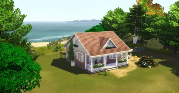Sims Artists: The Rose Garden House