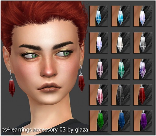 All by Glaza: Earrings accessories 03
