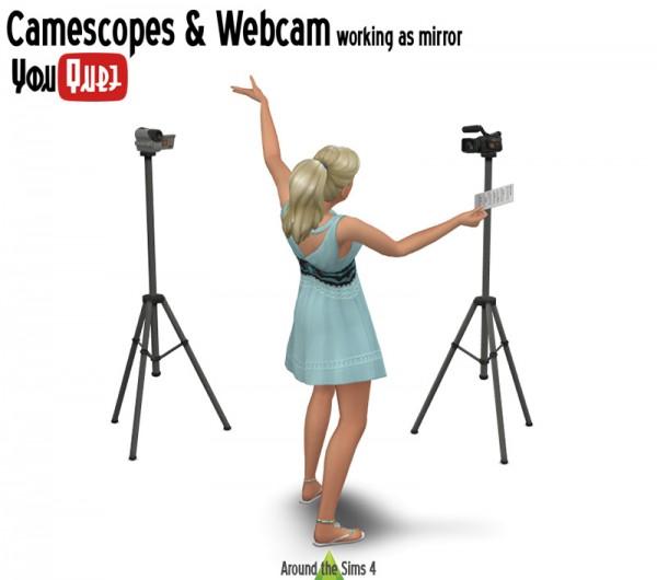 Around The Sims 4: Web Cam