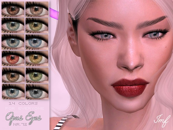 The Sims Resource: Opus Eyes N.72 by IzzieMcFire