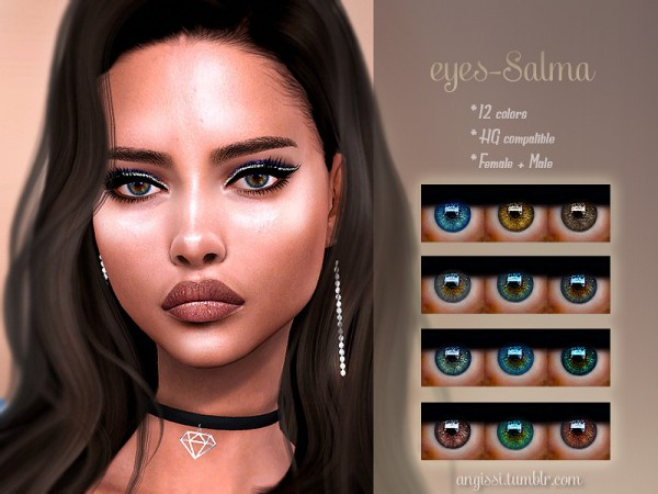 The Sims Resource: Eyes Salma by ANGISSI