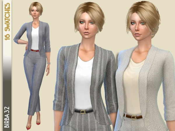 The Sims Resource: Luxory Jacket by Birba32