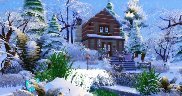 Studio Sims Creation: Chalet Cabane