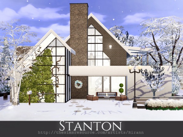 The Sims Resource: Stanton House by Rirann
