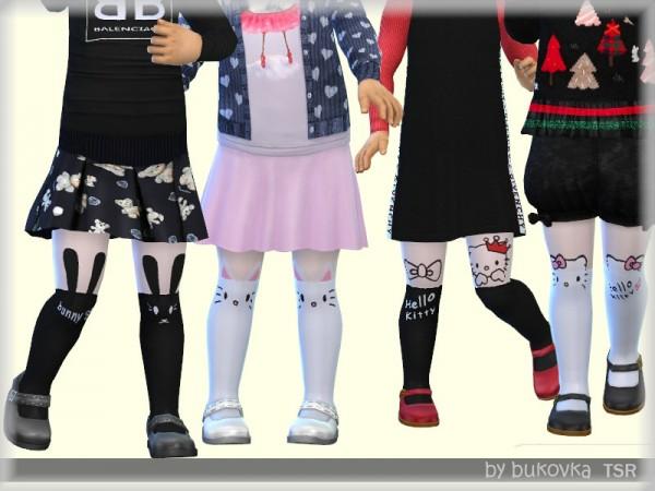 Annett`s Sims 4 Welt: Knitted Dresses & Tights & Caps