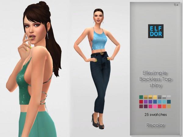 Elfdor: Backless Top Recolor   shiny