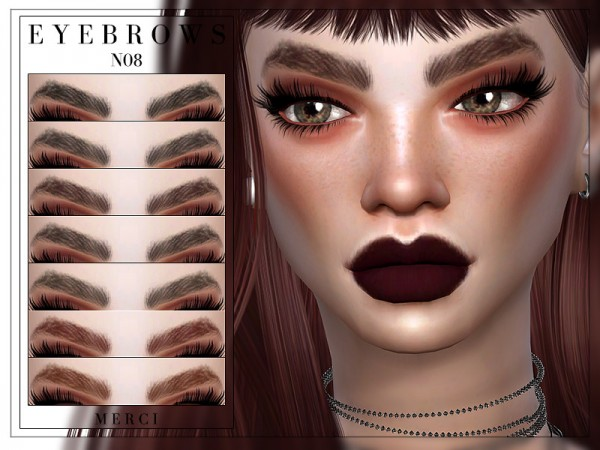 The Sims Resource: Eyebrows N08 by Merci