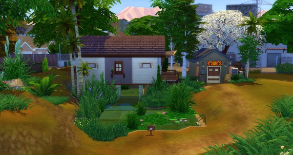 Studio Sims Creation: La Roulotte de Noe