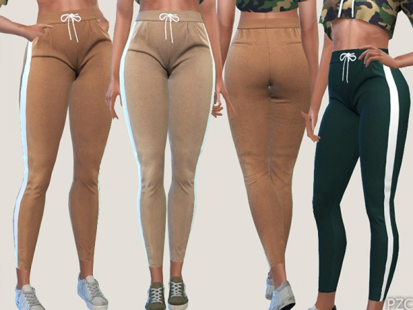 The Sims Resource: Casual and Sporty Pants 019 by Pinkzombiecupcakes