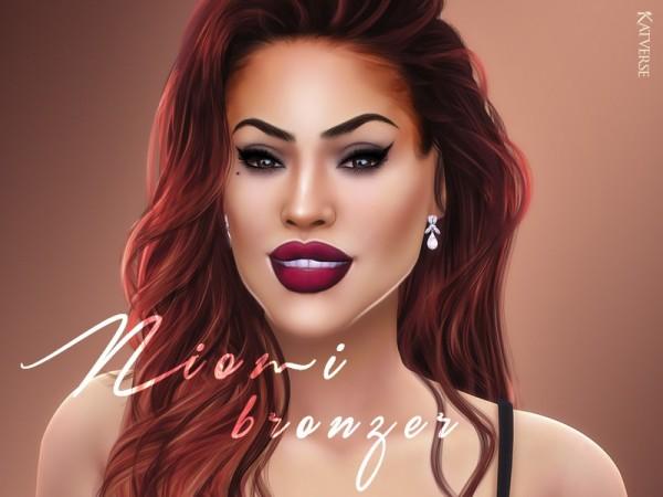 The Sims Resource: Niomi Bronzer by KatVerseCC