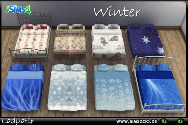 Blackys Sims 4 Zoo: Winter beddings