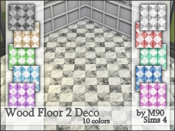 The Sims Resource: Wood Floor 2 Deco by Mircia90