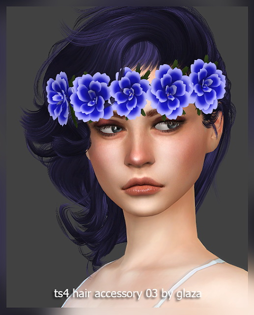All by Glaza: Hair accessory 03