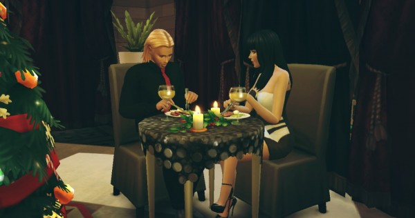 Pandoras CC: Romantic Dinner   Poses
