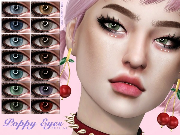 The Sims Resource: Poppy Eyes N151 by Pralinesims