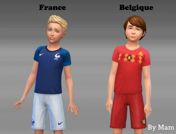 Sims Artists: Football Outfit