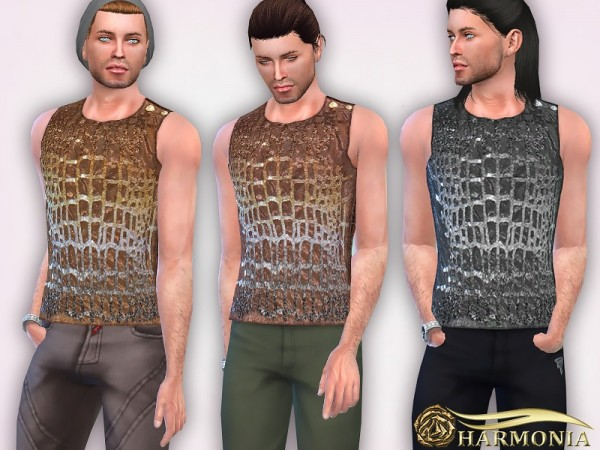 The Sims Resource: Sequin Embellished Tank by Harmonia