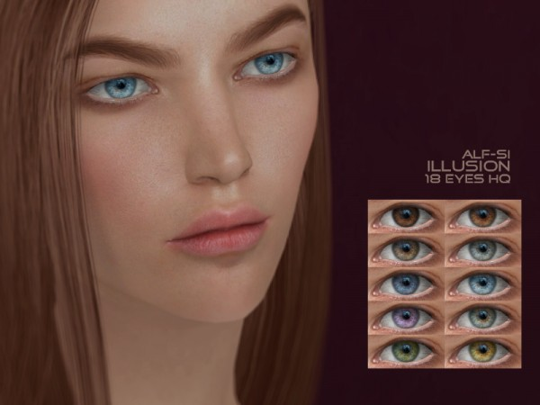 The Sims Resource: Illusion   Eyes N12 HQ by Alf si