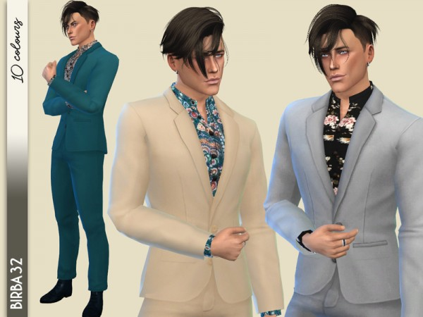 The Sims Resource: Vibrations suit II by Birba32