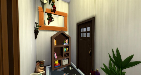 Luniversims: Woodworkers house by Coco Simy