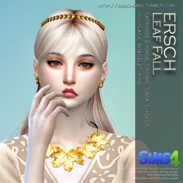 ErSch Sims: Leaf Fall Set