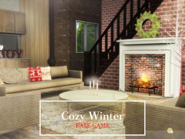 The Sims Resource: Cozy WinterHouse by Pralinesims