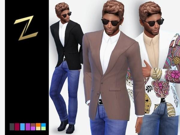 The Sims Resource: Denim Jacket by ZitaRossouw