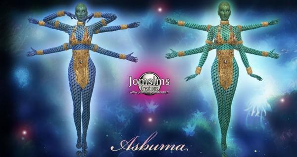 Jom Sims Creations: Asburma costume