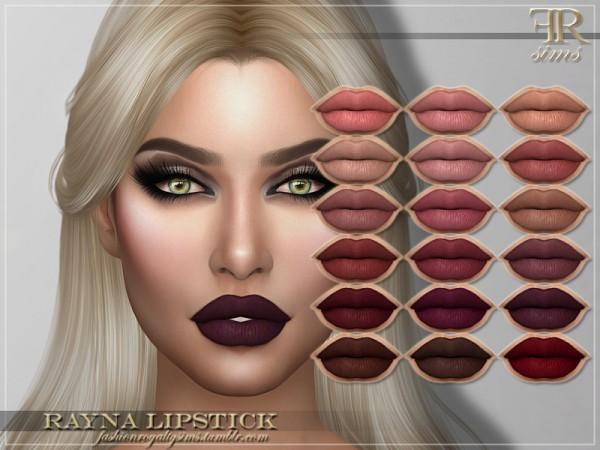 The Sims Resource: Rayna Lipstick by FashionRoyaltySims
