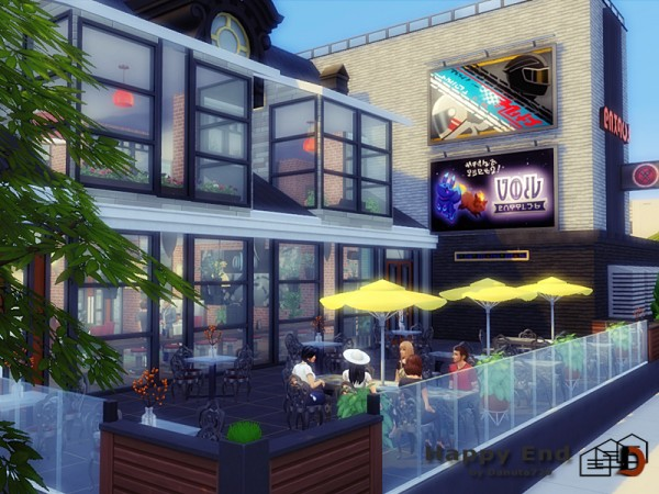 The Sims Resource: Happy End Restaurant by Danuta720